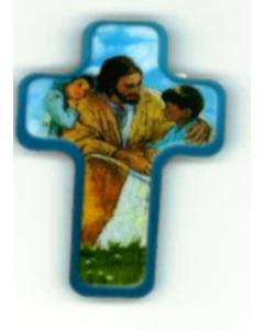Magneetti risti Jeesus ja kaksi lasta