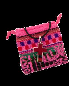 Ristiriipus Perusta - punainen mantakangas