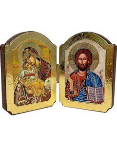 Diptyykki Maria ja Jeesus
