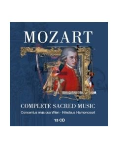 CD Mozart Complete Sacred Works 13CD