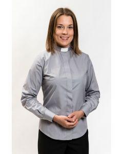 Pitkähihainen harmaa papinpaita naiselle, Ateljé Solemnis
