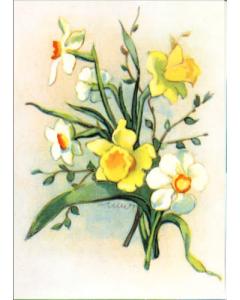Pääsiäiskortit Pääsiäisiloa, 4 erilaista