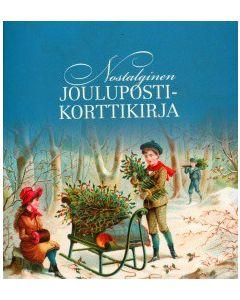Nostalginen joulupostikorttikirja