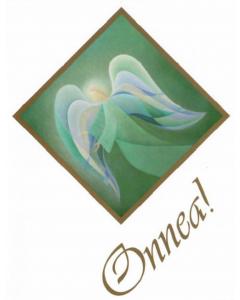Äitienpäiväkortti Enkeli 2-os.