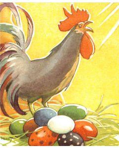 Pääsiäiskortit Pääsiäistoivotus 8 kpl