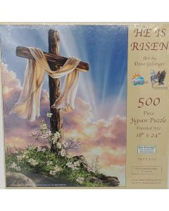 Palapeli Ylösnoussut - He is risen, 500 palaa