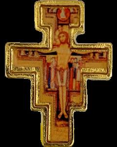 Pinssi Pyhä Franciscuksen risti