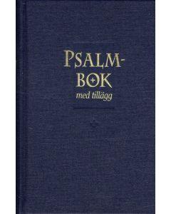 Psalmbok med tillägg - blå