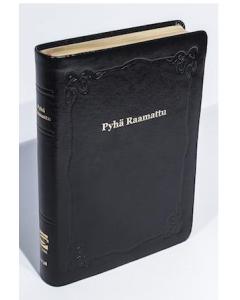 33/38 Isotekstinen Raamattu musta reunahakemisto kultasyrjä R43
