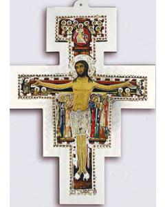 San Damianoksen risti hopea 18x13,6 cm
