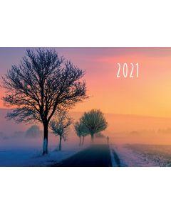 Raamattu365.fi 2021 seinäkalenteri raamatunjakeilla