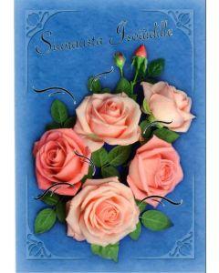 Äitienpäiväkortti Siunausta isoäidille 2-os. + kuori