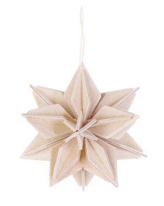 Lovi Tähti puunvärinen 7 cm