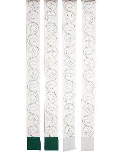 Symboliköynnös kulmastola - Ateljé Solemnis
