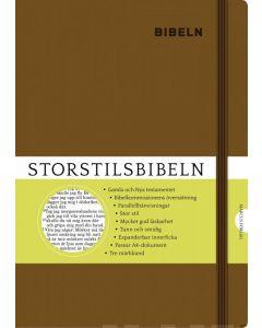 Storstilsbibeln - brun