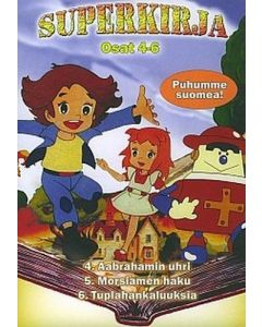 DVD Superkirja 4-6