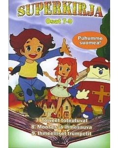 DVD Superkirja 7-9