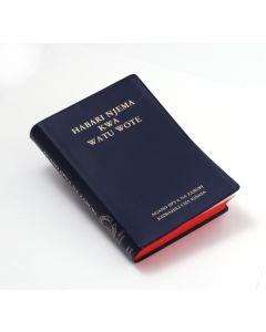 Swahili Uusi testamentti ja psalmit