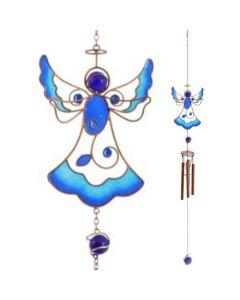 Tiffany-tuulikello sininen