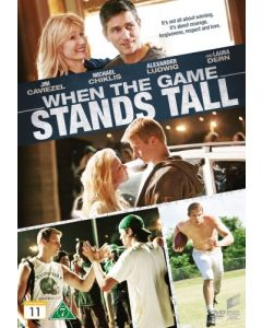 Dvd When The Game Stands Tall