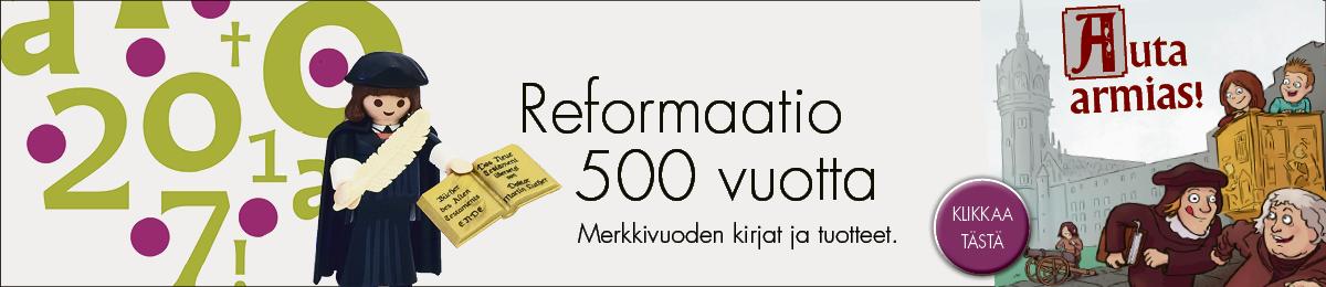 Reformaatio 500 vuotta, merkkivuoden kirjat ja tuotteet